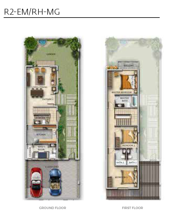 Dmac Aurum Villas Floor Plans