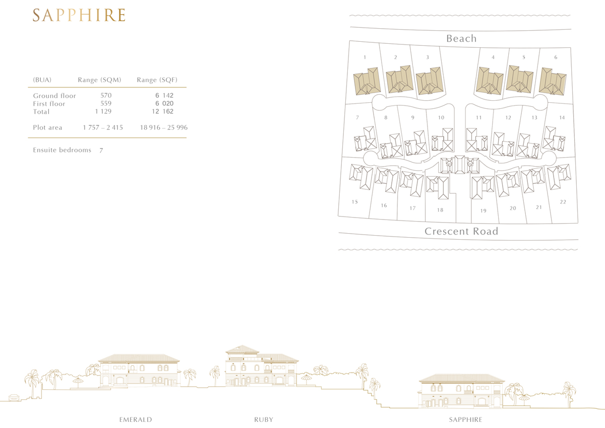 Sapphire Typical Layout Plan