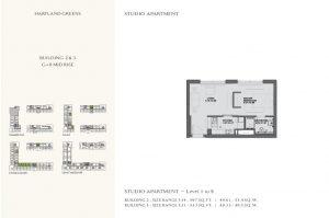 Studio Apartment Level 8 533sqft