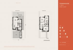 Townhouse 3 Bed Units