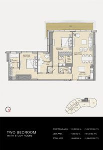 Two-Bedroom-with-study-room-1.498-SqFt