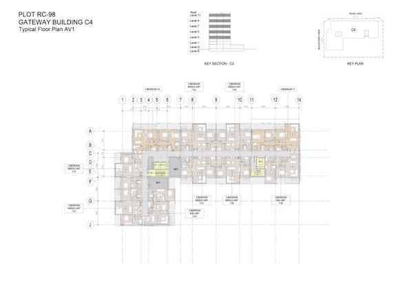 Typical Floor Plan Gateway Building C4 Av1