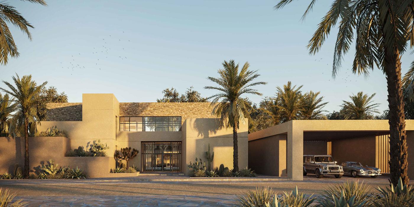Budoor villas at Aljurf Gardens Images