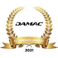 Damac Award Badges