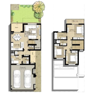Naseem Townhouses Floor Plans