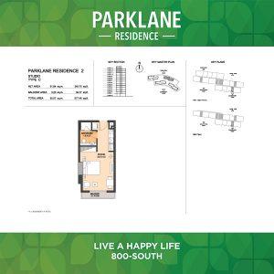 Parklane Residence 2 Studio Type C