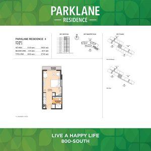 Parklane Residence 3 Studio Type C