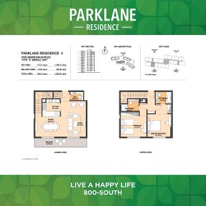 Parklane Residence 4 Two Bedroom Duplex Type B Middle Unit