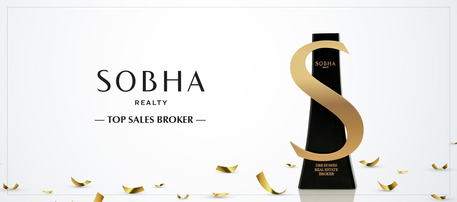 Sobha Top Sales Borker Banner
